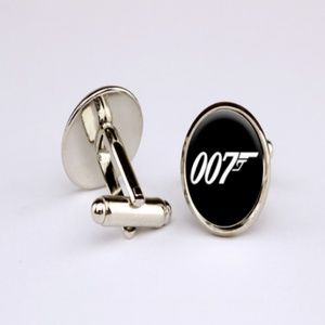 Other - James Bond 007 Silver Brass Copper Cuff Links